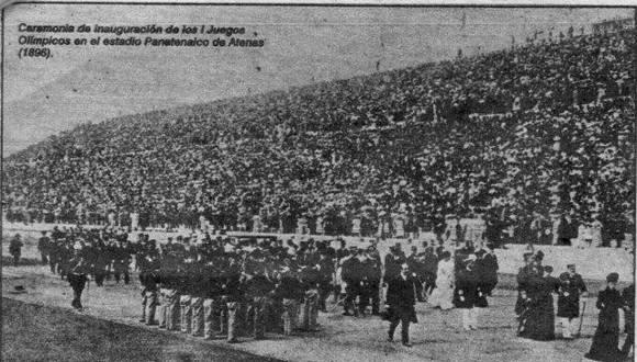 La tarde del 6 de abril de 1896 pasó a la historia por la inauguración de los Juegos Olímpicos Modernos. Foto: archivo.