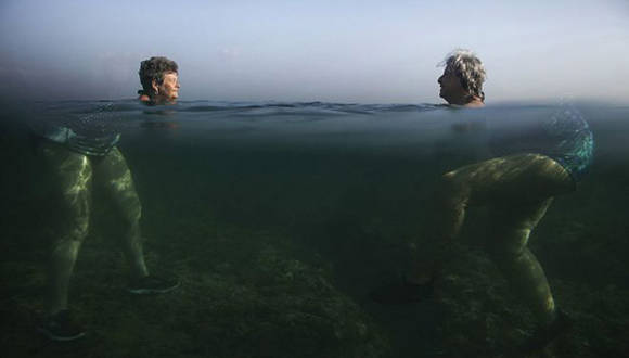 La surrealista foto de la ola de calor en La Habana premiada en los prestigiosos Sony Awards. Foto: Alexandre Meneghini.