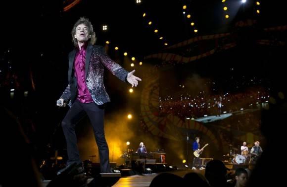 Los Rolling Stones dieron un mítico recital en Cuba. Foto: AP / Enric Marti / Cubadebate Archivo