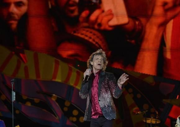 Los Rolling Stones dieron un mítico recital en Cuba. Foto: AP / Enric Marti