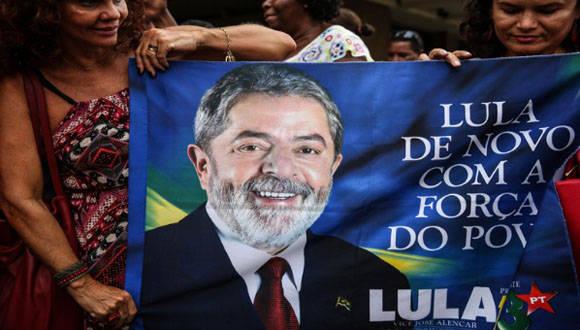 Lula apoyo