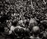 Lula en las calles tras su detención y allanamiento de su casa, la semana pasada.