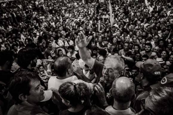 Lula en las calles