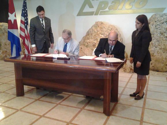 Firman Cuba y EE.UU memorando de entendimiento para seguridad de la navegación marítima