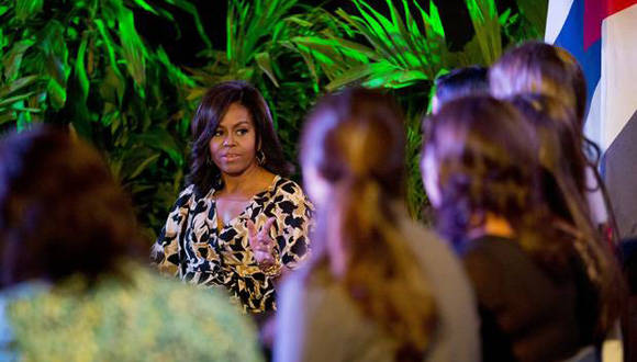 Michelle Obama conoció acerca de experiencias educacionales en Cuba