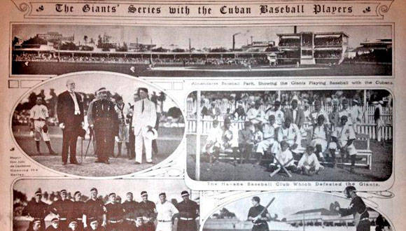 New York Giants en Cuba (1911).