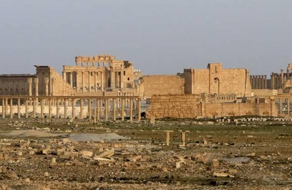 Ruinas históricas de Palmira. Foto: Archivo.