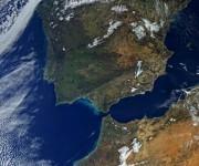 Península Ibérica vista por Sentinel 3A. Foto: ESA.