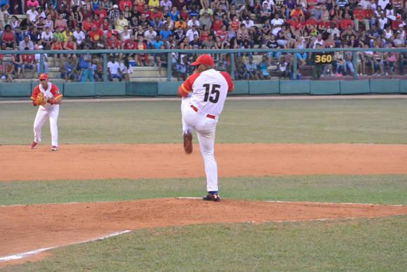 Freddy Asiel Álvarez no puedo esta vez con Pinar del Río. Foto: Katheryn Felipe / Cubadebate