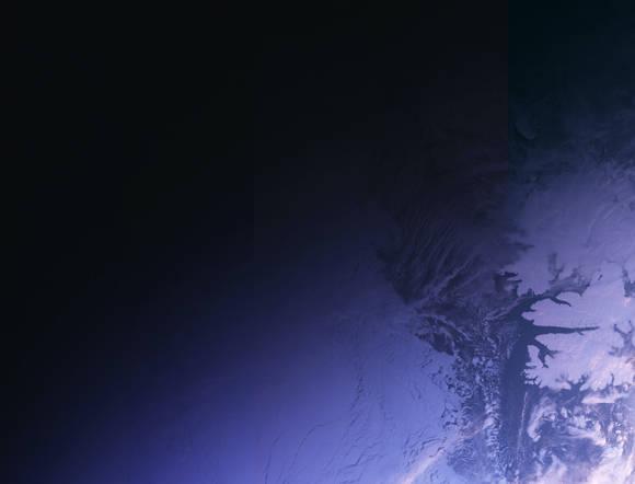 Primera imagen tomada por Sentinel 3A. Transición del día a la noche en Svalbard, Noruega. Foto: ESA.
