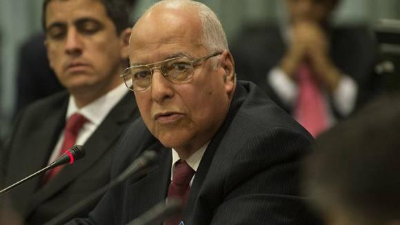 El ministro de Economía y Planificación de Cuba, Ricardo Cabrisas. Foto: Tomada de www.trabajadores.cu (Archivo)