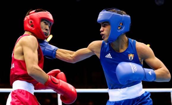 De clasificar, Robeisy Ramírez (a la derecha) podría buscar su segundo título olímpico. Foto tomada de zimbio.com