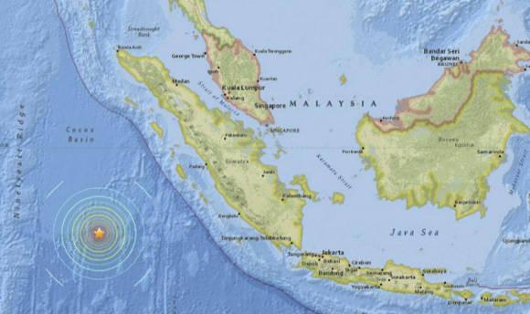 Localización exacta del sismo.