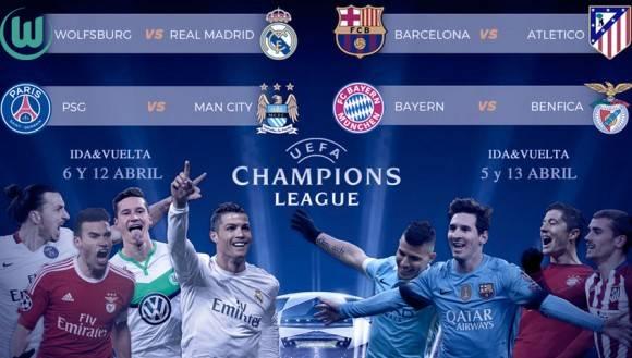 Enfrentamientos de cuartos de final. Autor: Marca.