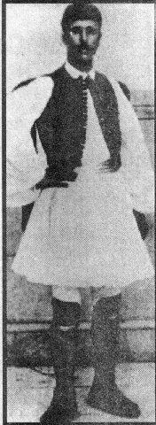 Spiridon Louis (campeón de la Maratón): Foto: Archivo.