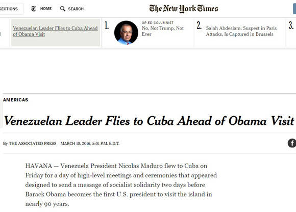 The New York Times, Estados Unidos.