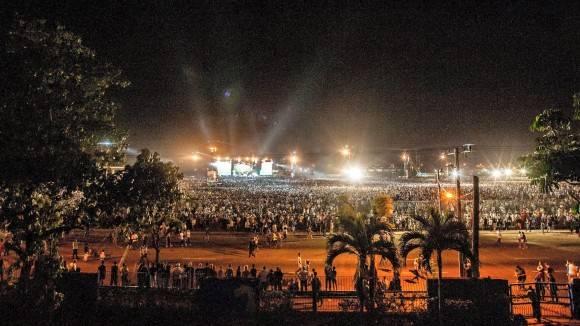 The Rolling Stones en La Habana. Foto: Iván Soca Pascual