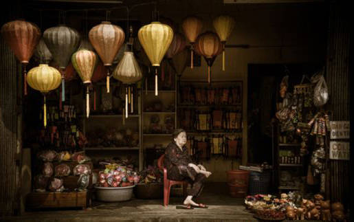 Una tienda de lámparas en Hoi An, Vietnam, de Swee Choo Oh, ganó en la categoría de Arte y Cultura de la competencia Abierta.. Foto: Swee Cho.