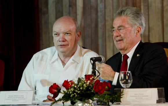 Foro económico Cuba-Austria será un éxito, asegura presidente austriaco