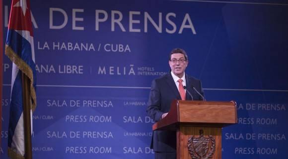 Bruno Rodríguez Parrilla.