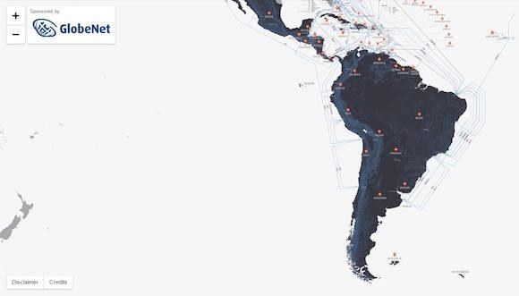 cables fibra optica america latina