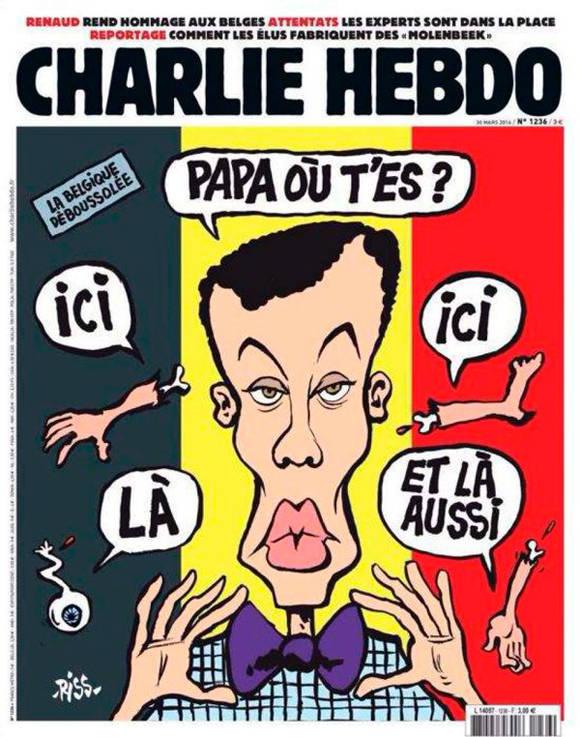 Portada polémica publicada por la publicación satírica Charlie Hebdo. Foto: TelesurTV