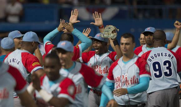 Ciego celebra su casi seguro pase a la Final. Foto: Ismael Francisco/Cubadebate.