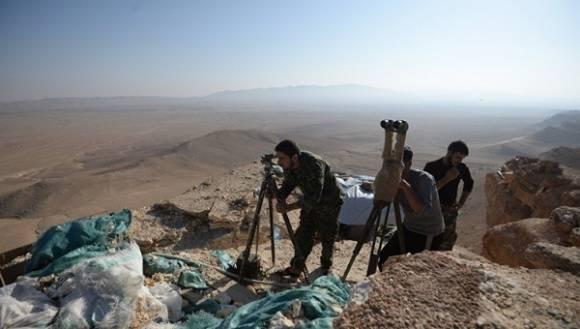 El Ejército de Siria tomó el control de los puntos altos de la ciudad histórica. | Foto: Sputnik.