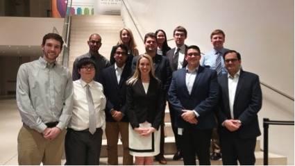 Encuentro con profesores y estudiantes de la Johns Hopkins University Foto: Cortesía de Julie Messersmith.