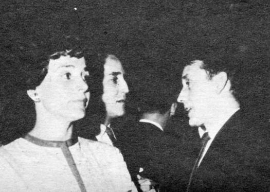 El gran campeón de boxeo Joe Louis, conversa con Fidel. Foto: Panchito Cano