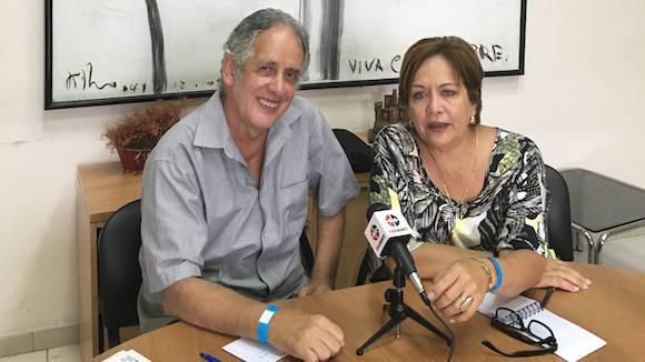 Arleen Rodríguez y Guille Vilar en Cubadebate.