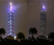 Los países de la región oriental de Asia y el Pacífico fueron los primeros en apagar las luces de sus monumentos y edificios representativos la noche de este sábado.