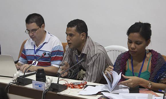 Luis Angel Gomez, Dati Santiago de Cuba. Foto: Ismael Francisco/Cubadebate.
