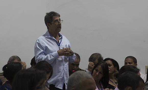 Pedro Urra, en Union de Informaticos. Foto: Ismael Francisco.