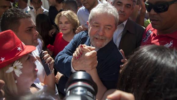 Unos 14 exmandatarios de América Latina y Europa manifestaron su solidaridad con el líder de Brasil, Luiz Inácio Lula da Silva. Foto: EFE.