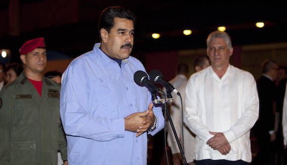 Maduro llega a Cuba en visita oficial. Foto: Ismael Francisco/ Cubadebate
