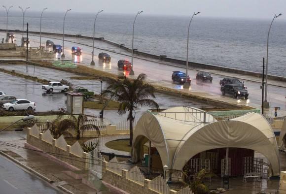 En el Malecón. Foto: Desmond Boylan