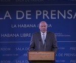 Malmierca explicó que el presidente Obama puede aprovechar aún más sus facultades ejecutivas para tomar medidas relacionadas con Cuba. Foto: Ismael Francisco/ Cubadebate