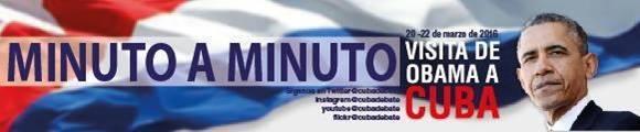 minuto a minuto obama en cuba