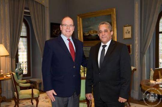 Príncipe de Mónaco reconoce buen estado de relaciones con Cuba