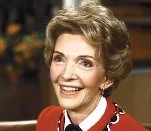 Hasta conocer a Reagan, Nancy se formó como actriz.