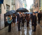 Lloviendo en La Habana Vieja / Wet and rainy in Old Havana.
