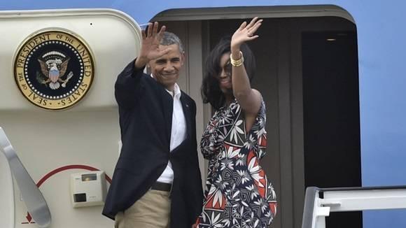 Obama cumplimentó una visita ofical durante tres días a Cuba. Foto: AFP.