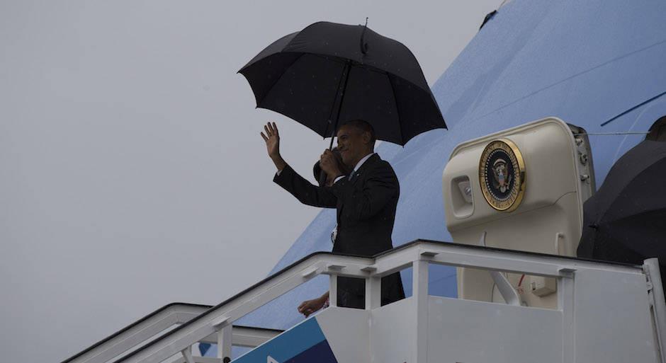 Llegó Barack Obama a la tierra de Martí y de Fidel (+ Video y Fotos)