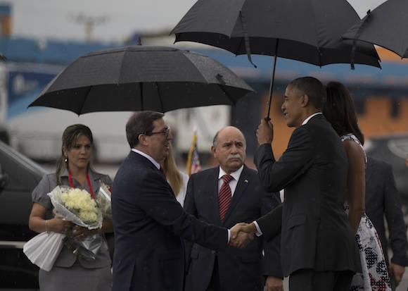 El Presidente Barack Obama llegó a La Habana. Foto: Ismael Francisco/ Cubadebate