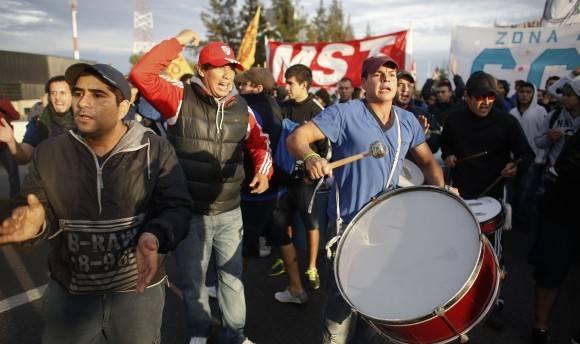 Manifestación en Argentina. Foto tomada de elimpulso.com