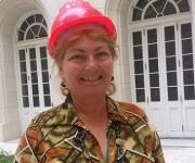 """""""Me siento muy feliz de ser parte de esta obra"""", dice Paula Abrantes. Foto: Radio Rebelde"""