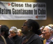 Evento de solidaridad con Cuba .