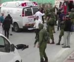 soldado israel mata a palestino