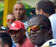 Tres glorias del pitcheo pinareño  Reinaldo Costa, Maximiliano Gutiérrez y Faustino Corrales. Foto: Khateryn Felipe / Cubadebate